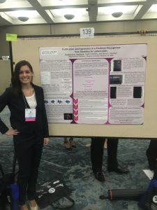 Stephanie at her ASBMB poster, April 2016